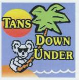 Tans Down Under